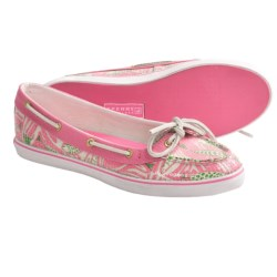 Sperry Top-Sider Lola Print Shoes (For Women) in Pink Fish Print Sequins