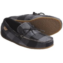 Sperry Top-Sider R&R Moccasin Slippers - Fleece Lining (For Men) in Grey Buffalo Wool - Closeouts