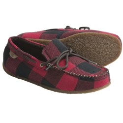 Sperry Top-Sider R&R Moccasin Slippers - Fleece Lining (For Men) in Grey Buffalo Wool