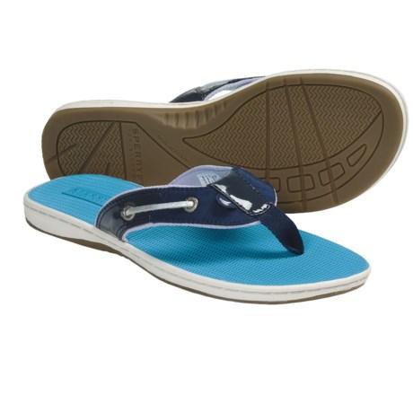 Sperry Top-Sider Seafish Sandals - Flip-Flops (For Women) in Navy