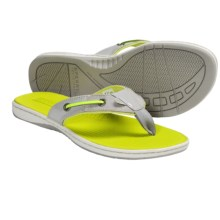 Sperry Top-Sider Seafish Sandals - Flip-Flops (For Women) in Silver - Closeouts