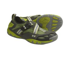 Sperry Top-Sider SON-R Buckle Water Shoes (For Men) in Grey/Green - Closeouts