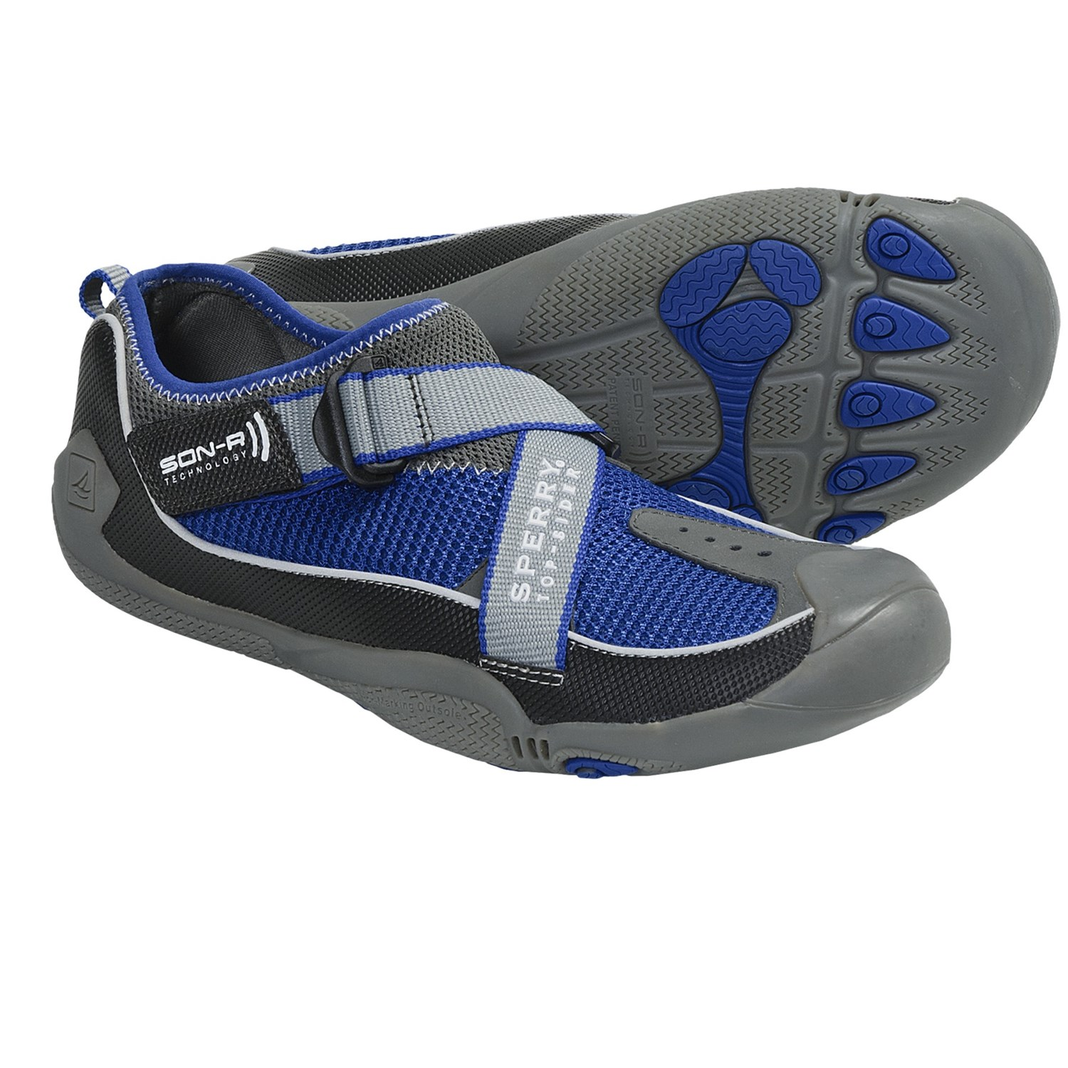 Sider SON-R Feedback Bootie Low Water Shoes (For Men) in Black/Blue