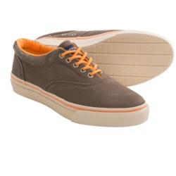 Sperry Top-Sider Striper CVO Neon Shoes - Sneakers (For Men) in Dark Brown