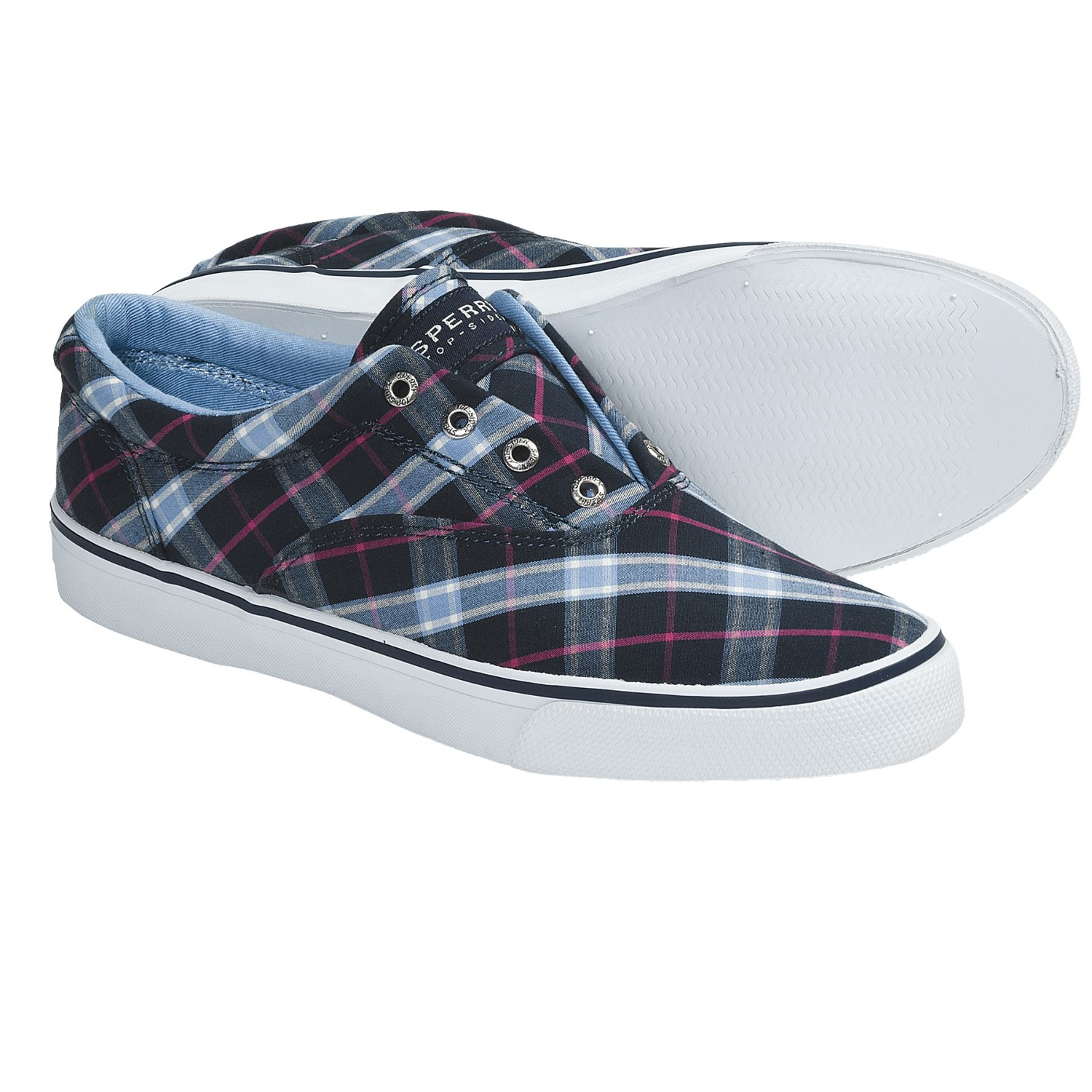 Blue Sperry Slip-On Shoes for Woman