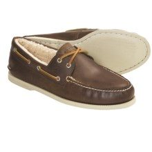 Sperry Top-Sider Winter Authentic Original Boat Shoes - Leather, Shearling-Lined (For Men) in Brown - Closeouts