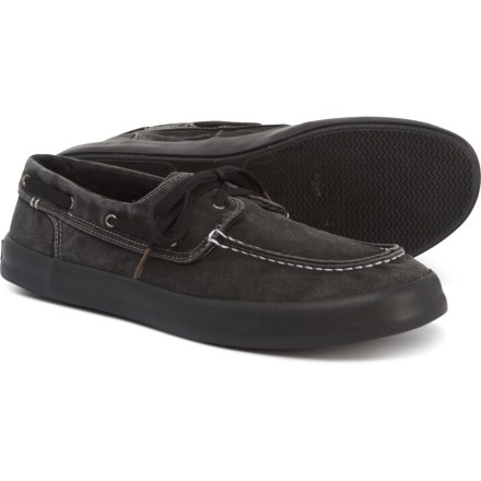 c438ca3caabac Sperry Wahoo 2-Eye Boat Shoes (For Men) in Black