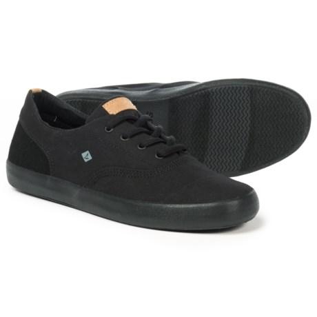 Sperry Wahoo Sneakers (For Boys) in Black/Black