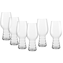 Spiegelau Beer Classics IPA Glasses - Set of 6 in Clear - Closeouts