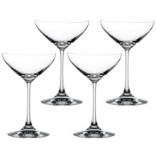 Spiegelau Casual Dessert/Champagne Glasses - Set of 4 in Clear - Closeouts
