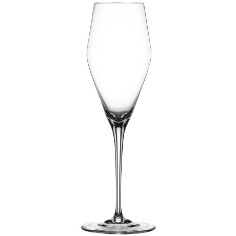 Spiegelau Hybrid Champagne Flute Glasses - Set of 2 in Clear