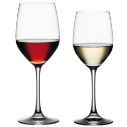Spiegelau Vino Grande Red & White Wine Glasses - Set of 8 in Clear