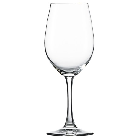 Spiegelau Wine Lovers White Wine Glasses - Set of 4 in Clear