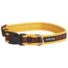 Spiffy Dog Air Dog Collar in Yellow Sunfire - Closeouts