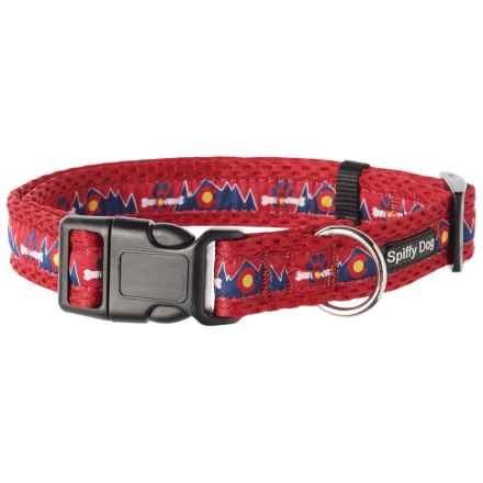 Spiffy Dog Colorado Air Dog Collar in Red - Closeouts
