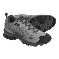Spira Azimuth Light Hiking Shoes - Mesh (For Women) in Graphite/Silver/Sky