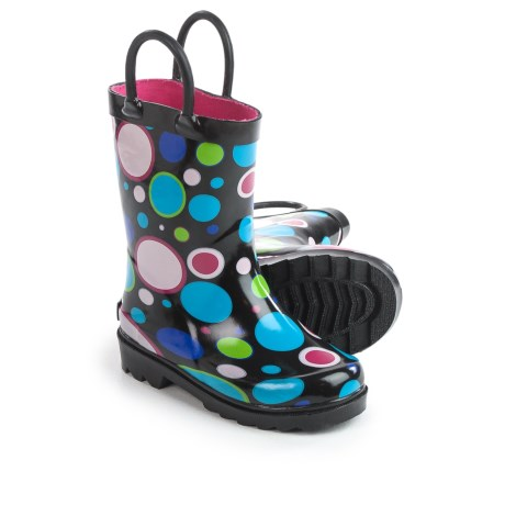 Splashers Gumdrop 2 Rain Boots - Waterproof (For Little and Big Kids) in Black/Multi