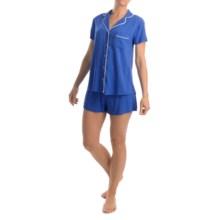Splendid Classic Pajamas - Short Sleeve (For Women) in Dazzling Blue - Overstock