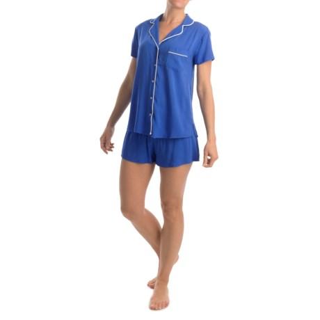 Splendid Classic Pajamas Short Sleeve (For Women)