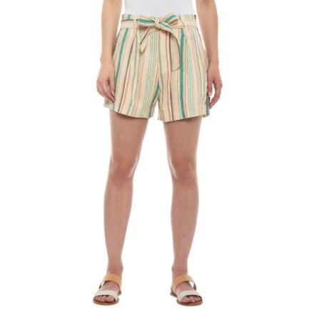 e68dd25f50 Splendid Contemporary La Paz Striped Shorts (For Women) in Multi