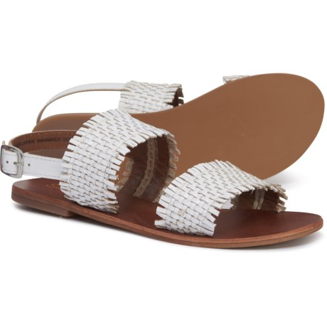 a590605866a Splendid Thomas Sandals - Leather (For Women) in White Leather