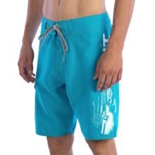 Split Vertigo Boardshorts (For Men) in Blue - Closeouts