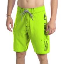 Split Vertigo Boardshorts (For Men) in Yellow - Closeouts