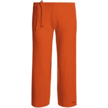 Spooney Wear Ever Flood Pants (For Women) in Tomato Red - Closeouts