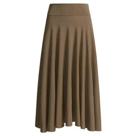 Spooney Wear Ever Full Skirt (For Women) in Chocolate - Closeouts