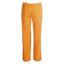 Spooney Wear Ever Scrub Pants - Side-Tie Drawcord (For Women) in Orange - Closeouts
