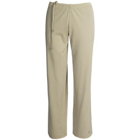 Spooney Wear Ever Scrub Pants - Side-Tie Drawcord (For Women) in Stone