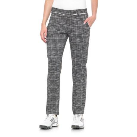Sport Haley Double Take Mars Golf Pants (For Women) in Black/White