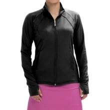 Sport Haley Ella Jacket - Zip Front (For Women) in Black - Closeouts