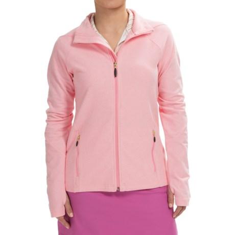 Sport Haley Heather Golf Jacket Full Zip (For Women)
