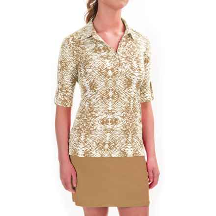 Sport Haley Lindsey Shirt - UPF 30+, Short Sleeve (For Women) in Beachwood - Closeouts