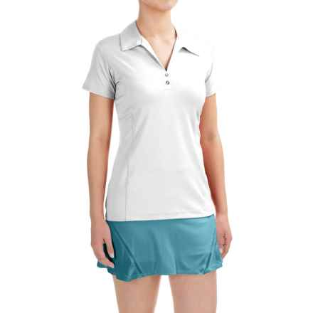 Sport Haley Sheila Polo Shirt - UPF 30+, Short Sleeve (For Women) in White - Closeouts
