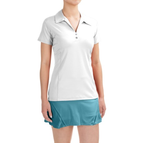 Sport Haley Sheila Polo Shirt - UPF 30+, Short Sleeve (For Women) in White