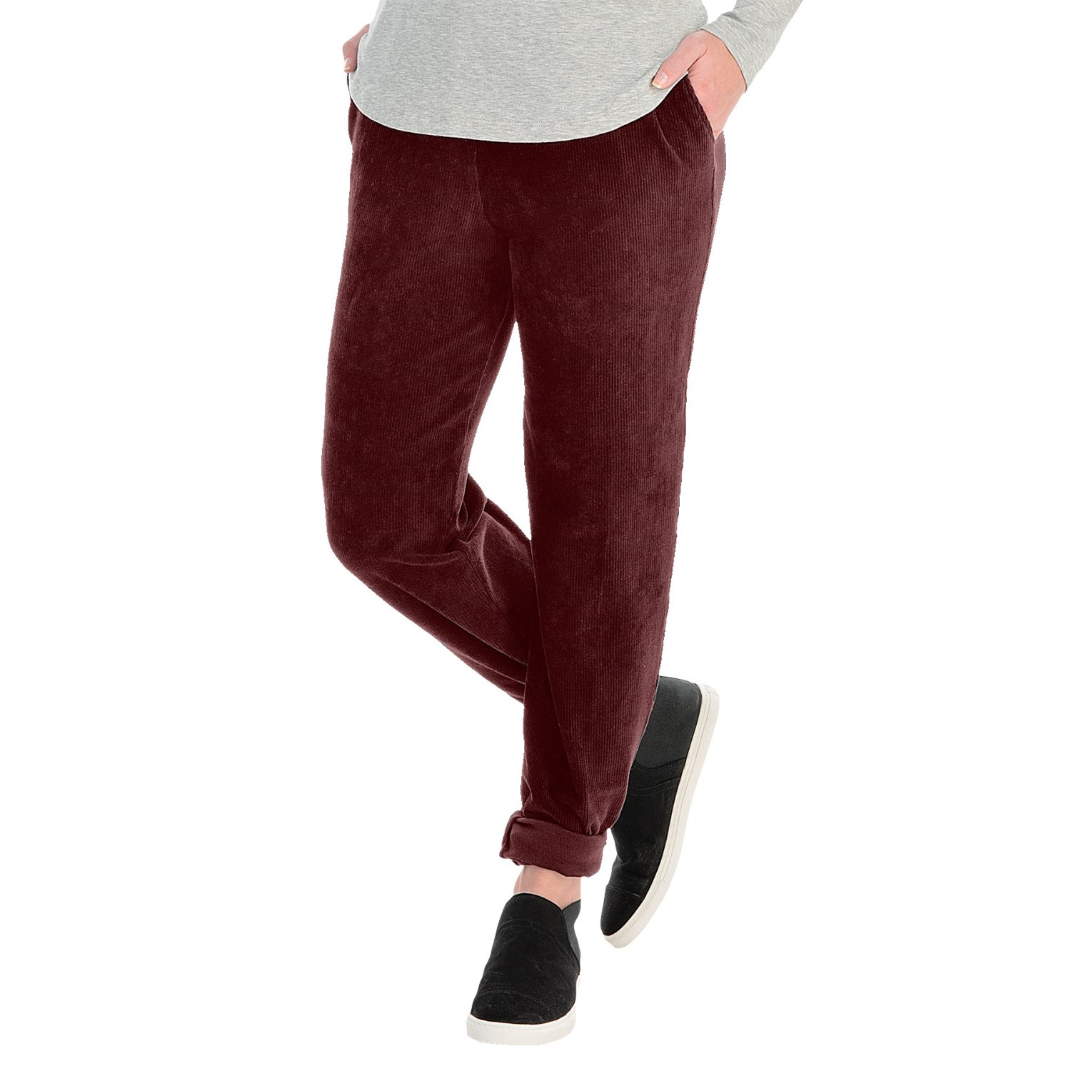 Sport Knit Corduroy Pants (For Women) - Save 76%