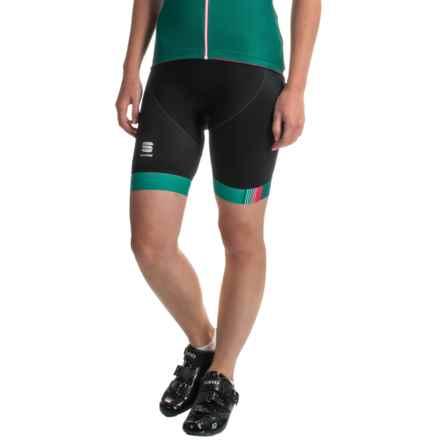 Sportful Bodyfit Pro Shorts (For Women) in Black/Teal - Closeouts