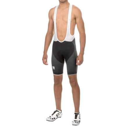 Sportful Gruppetto Pro Bib Shorts (For Men) in Black/White - Closeouts