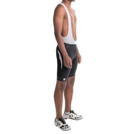 Sportful Tour Max Bib Cycling Shorts (For Men) in Black/White - Closeouts