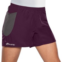 Sporthill Boulder Peak II Shorts (For Women) in Wine/Pewter - Closeouts