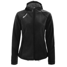 SportHill Day Pass Jacket - Soft Shell (For Women) in Black - Closeouts