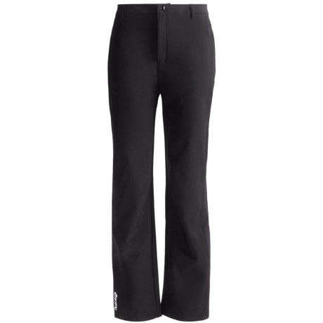 SportHill Day Pass Soft Shell Pants (For Women) in Black