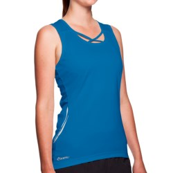 SportHill Floras Tank Top (For Women) in Cool Blue
