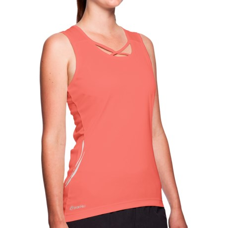 SportHill Floras Tank Top (For Women) in Red Hot