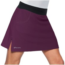 SportHill Mazama Skort (For Women) in Wine/Black - Closeouts