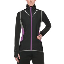 SportHill Prism Splice Vest (For Women) in Black/Bright Berry - Closeouts