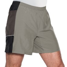 SportHill Steens Mountain II Shorts (For Men) in Overcast/Black - Closeouts