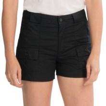 Sportif USA Alice Cargo Shorts (For Women) in Black - Closeouts